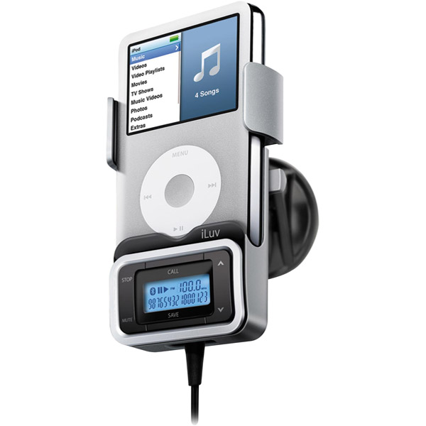 iLuv i730 Bluetooth FM Transmitter with LCD Display for iPod/iPhone