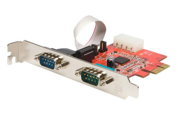 Startech Pex2S952 2Port Dual Profile Pcie Uart Serial Card