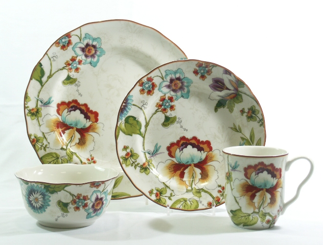 222 Fifth 02299 Bella Vista 16 Piece Dinnerware Set