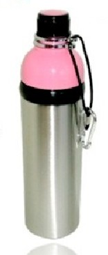 Good Life Gear SF6013 PNK 24 oz. BPA Free Water Bottle - Pink GODLG004