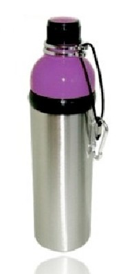 Good Life Gear SF6013 PPL 24 oz. BPA Free Water Bottle - Purple