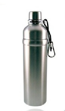 Good Life Gear SF6048 SS 24 oz. BPA Free Water Bottle - Stainless Steel
