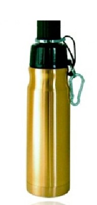 Good Life Gear Sf6019 Brz 16 Oz Bpa Free Double Wall Vacuum Insulated Water Bottle Bronze image