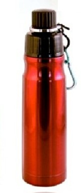 Good Life Gear SF6019 RED 16 oz. BPA Free Double Wall Vacuum Insulated Water Bottle - Red