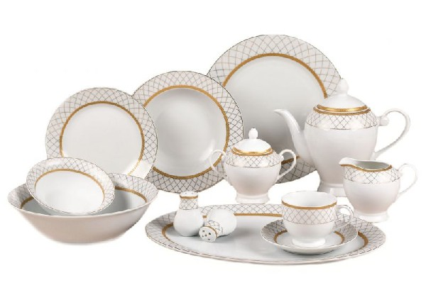 Lorenzo Import Beatrice-57 Beatrice-57 Dinnerware Set By Lorren Home