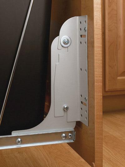 Rev-A-Shelf RSRV.DM17.KIT Door Mount Kit for RV Series-Silver
