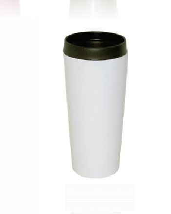 Good Life Gear SF3007 WHT 16 oz. Hot-Cold Travel Mug With Screw On Lid - White GODLG052