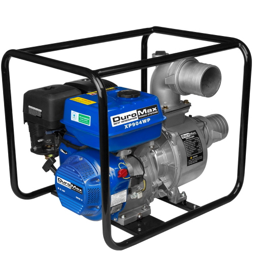 Imperial Industrial Supply DuroMax XP904 Portable 4 in. Water Pump 9.0 Hp. Gasoline Engine at Sears.com
