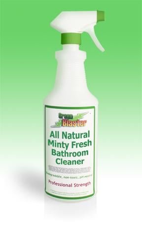 Green Blaster Products GBBSM32R Minty Fresh All Natural Bath & Shower Cleaner 32 oz Refill