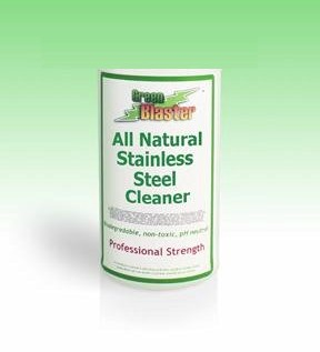 Green Blaster Products GBSS1G All Natural Stainless Steel Cleaner 1 Gallon Refill