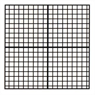 Marsh Industries Pr-404-M1Gc Pro-Rite 48X48 Aluminum Trim Porcelain Markerboard With Graph Coordinates And With 1 In. Map Rail - White