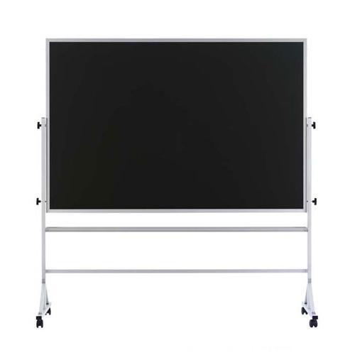 Marsh Industries Rb-45B-K8K8 Contemporary Reversible 42X60 Porcelain Chalkboard Both Sides - Black