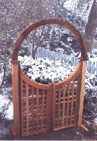 New England Woodworks LATTICE GATE 36 Lattice Gate