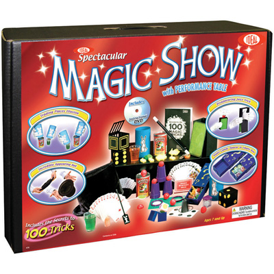 POOF-Slinky 0C4769 Spectacular Magic Show 100 Trick Suitcase