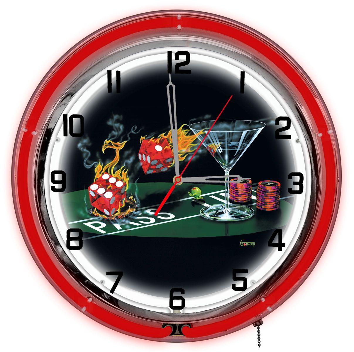 Petro Enterprises GODNC18-06 Praying For Seven 18 ft. Neon Clock