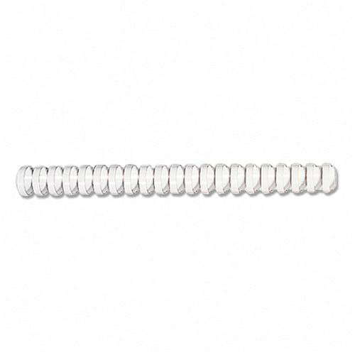 FELLOWES INC. BINDING COMBS PLASTIC - WHITE 5-16IN 100
