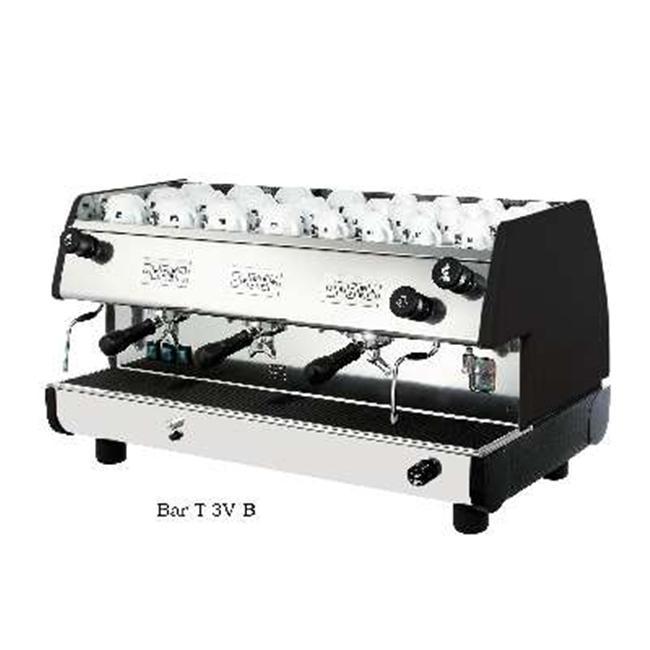 European Gift Bar-T 3V-B La Pavoni Bar-T 3V-B, 3 Group, Black
