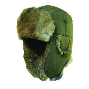 Dorfman Pacific W0630-OLIVE2 Woolrich Medium Supplex Faux Fur Tropper - Olive