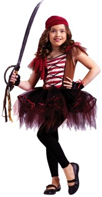 Costumes For All Occasions Batarina Pirate Child at Sears.com