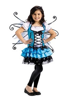 Costumes For All Occasions FW122151TL Turquoise Fairy Toddler Large 3T-4T