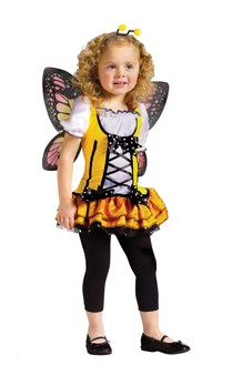 Costumes For All Occasions FW122161TS Butterfly Princess Toddler Small 24M-2T