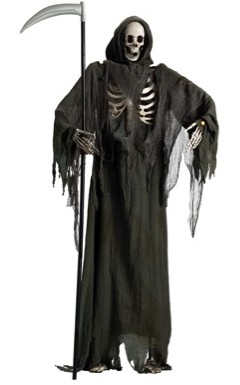 Costumes For All Occasions FW91725 Standing Reaper with Moving Jaw