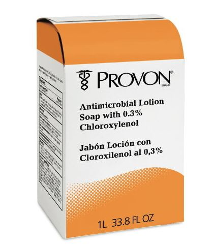 Gojo Industries GOJ 2118-08 Provon NXT Antimicrobial Lotion Soap with Chloroxylenol Refill 1000 ml
