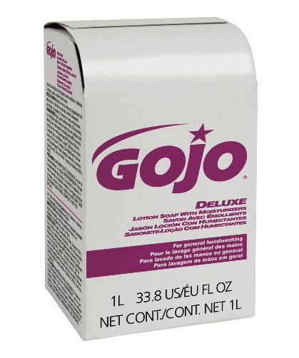 Gojo Industries GOJ 2117-08 NXT Deluxe Lotion Soap with Moisturizers Refill 1000 ml