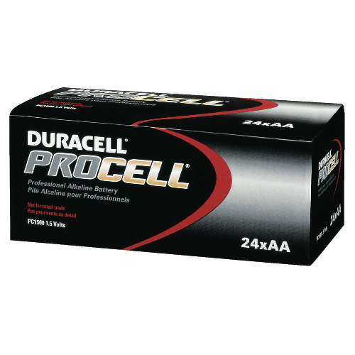 Duracell DRC PC1500BKD Procell ndustrial Alkaline Batteries AA-Cell
