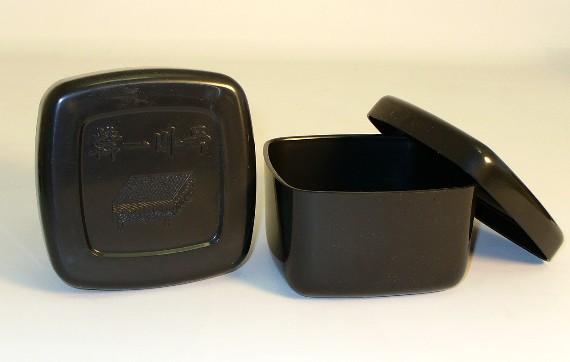 ShinkWang 22802K Plastic Black Bowls