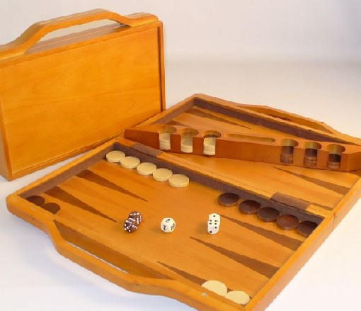 Square Root SQ22 14.5 in. Backgammon