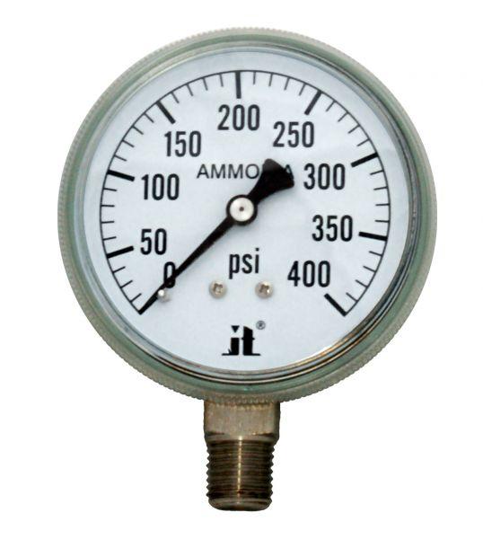 Zenport Industries APG400 0 G�� 400 PSI Ammonia Pressure Gauge