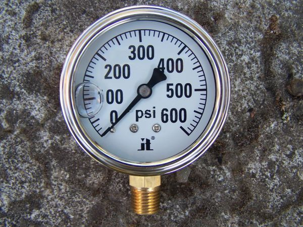 Zenport Industries LPG1000 0 G�� 1000 PSI Low Pressure Gauge