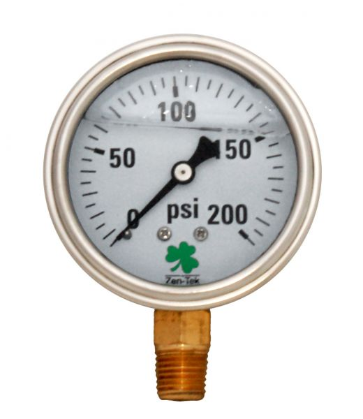 Zenport Industries LPG200 0 G�� 200 PSI Low Pressure Gauge