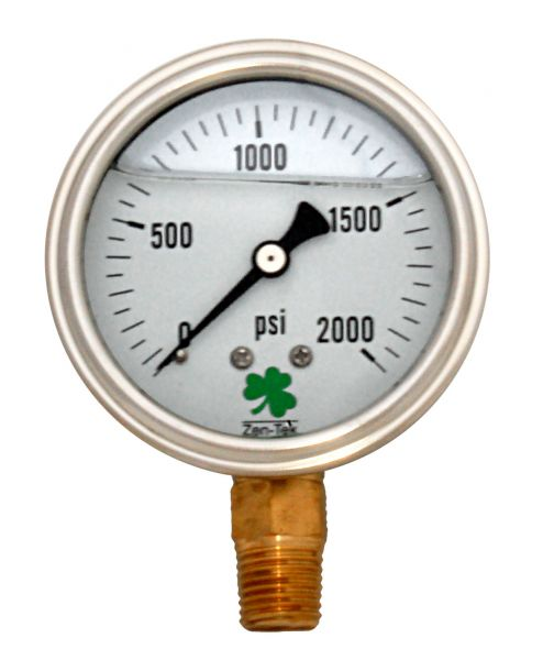 Zenport Industries LPG2000 0 G�� 2000 PSI Low Pressure Gauge
