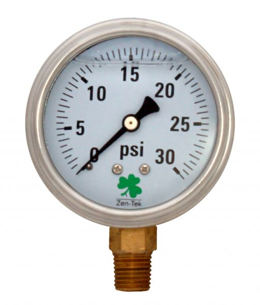 Zenport Industries LPG30 0 G�� 30 PSI Low Pressure Gauge