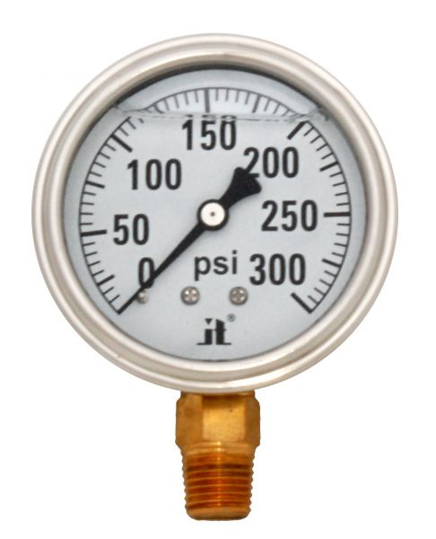 Zenport Industries LPG300 0 G�� 300 PSI Low Pressure Gauge