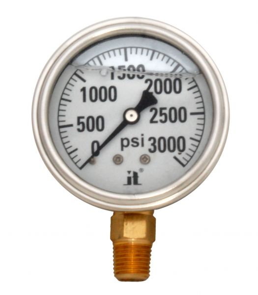Zenport Industries LPG3000 0 G�� 3000 PSI Low Pressure Gauge