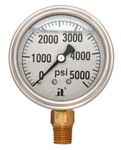 Zenport Industries LPG5000 0 G�� 5000 PSI Low Pressure Gauge