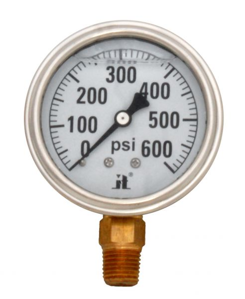 Zenport Industries LPG600 0 G�� 600 PSI Low Pressure Gauge