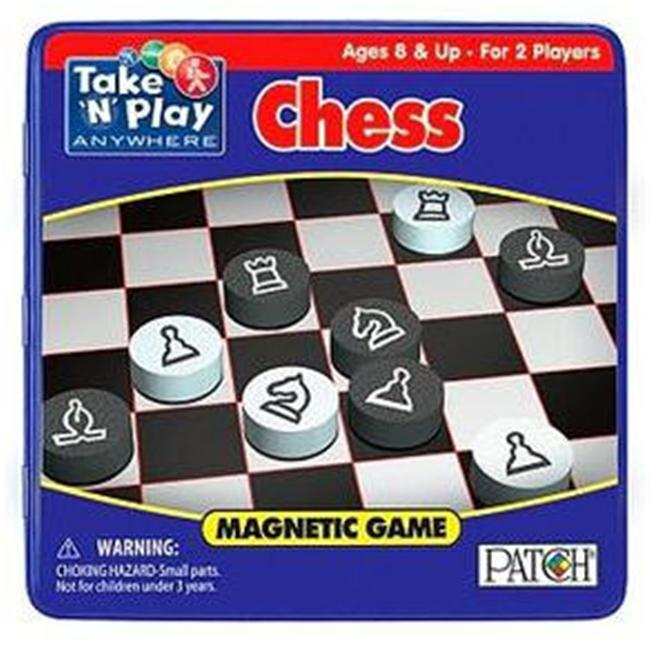 SMETHPORT SPECIALTY COMPANY 672 Chess Board Game - Pack of 6