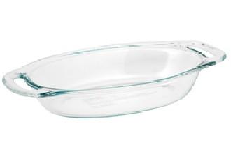 Pyrex 1085792 Easy Grab 1.3qt  Oval Dish