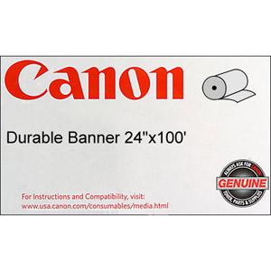 Canon 0834V777 Durable Matte Polypropylene Banner Paper  24'' x 100 feet  Roll