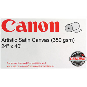 Canon 1429V467 Artistic Satin Canvas  24'' x 40 feet  Roll