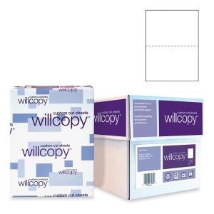 Domtar 851055 Custom Cut-Sheet Copy Paper  92 Brightness  20lb  8-1/2x11  White  2500/Carton
