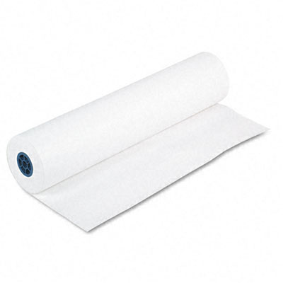 Pacon 4765 Easel Roll  35 lbs.  24'' x 200 ft  White  Roll
