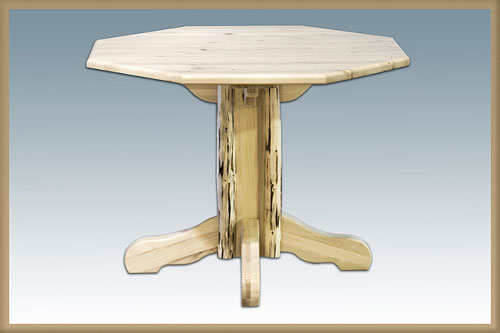 Montana Woodworks MWHCPTSL Homestead Center Pedestal Table