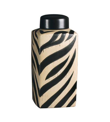 Sterling Industries 72-3212 Large Zebra Jar Accessory Jar