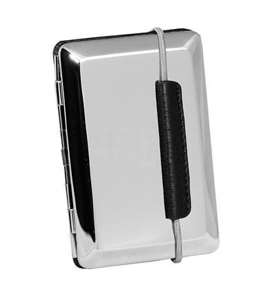 Visol V636B California Stainless Steel Business Card Case VISOL436