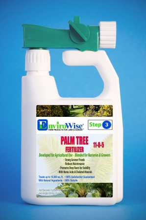 EnviroWise 337 Palm Tree Fertilizer with Foliar Sprayer